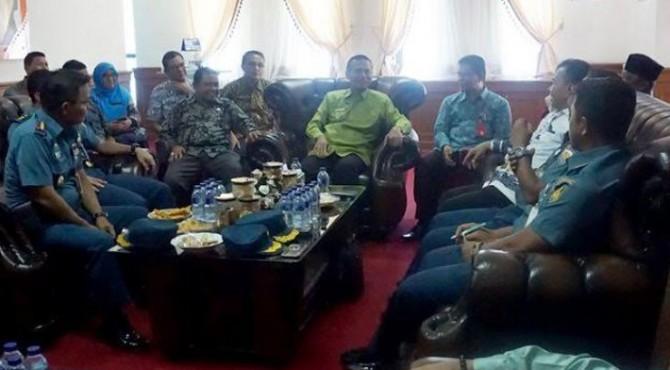 Tinjauan Pemerintah Pusat, Survei Kesiapan Kota Pariaman sebagai Tuan Rumah Hari Nusantara.