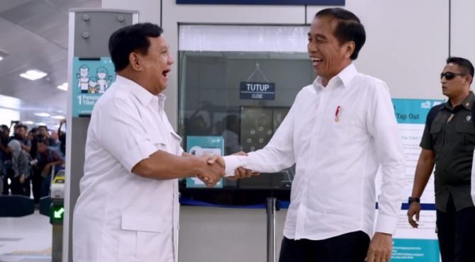 Prabowo bertemu dengan Jokowi