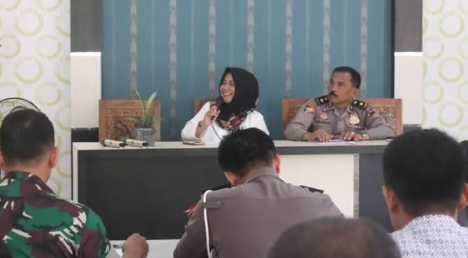 Rapat persiapan akhir Gowes Nusantara 2019, Rabu (24/7).
