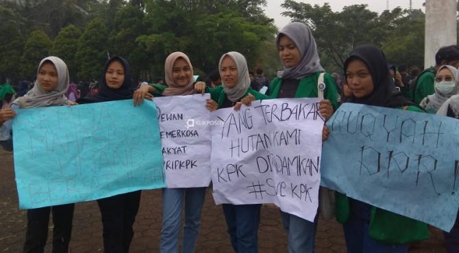 Coretan mahasiswa Unand atas penolakan Revisi UU KPK