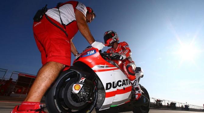 ilustrasi: Dovizioso pebalap Ducati yang kini berada di posisi kedua klasemen sementara perebutan juara dunia MotoGP