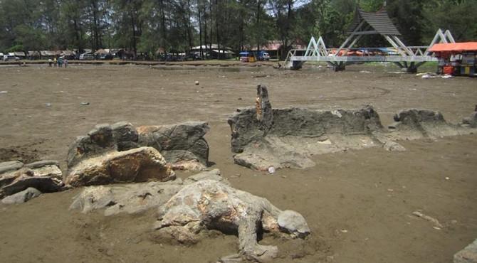 Batu Malin Kundang, Salah Satu Objek Sejarah yang Terdapat di Pantai Air Manis, Kota Padang