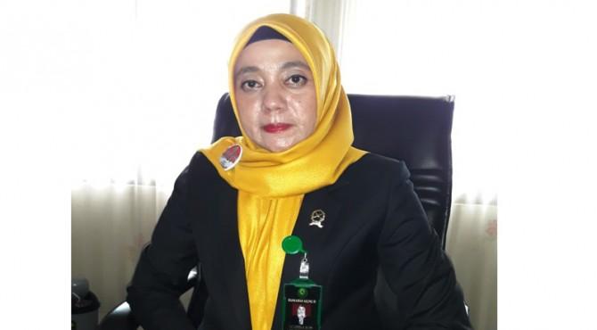 Ketua PN (Pengadilan Negeri) Lubuk Sikaping, Kabupaten Pasaman, Cut Carnelia SH. MM