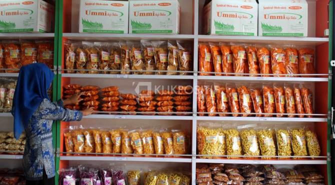 Sanjai, salah satu produk UMKM di Sumbar