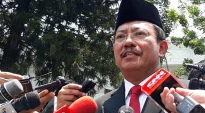Menteri Kesehatan Republik Indonesia, dr. Terawan Putranto