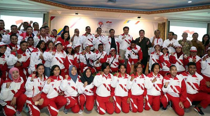 Kontingen Indonesia SEA Games 2017