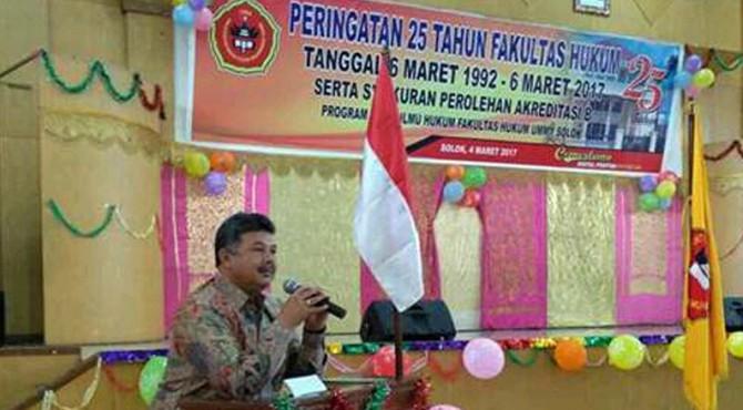 Wali Kota Solok H. Zul Elfian menyatakan siap mendorong kemajuan UMMY Solok