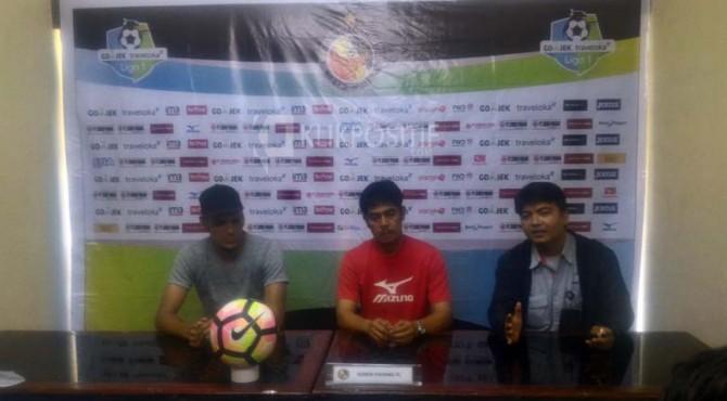 Technical meeting jelang laga Semen Padang FC vs Persipura