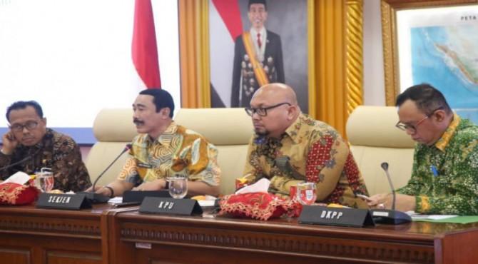 Sekretaris Jenderal (Sekjen) Kementerian Dalam Negeri (Kemendagri), Hadi Prabowo