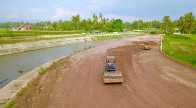 Pembangun dan penataan kawasan Batang Agam.