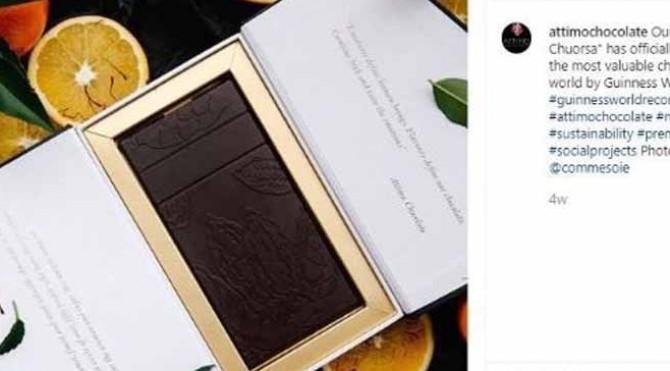 La Chuorsa, Cokelat Termahal di Dunia