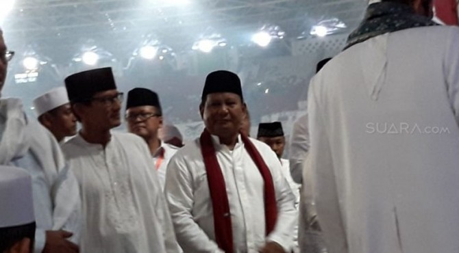 Kampanye Prabowo Subianto - Sandiaga Uno di GBK