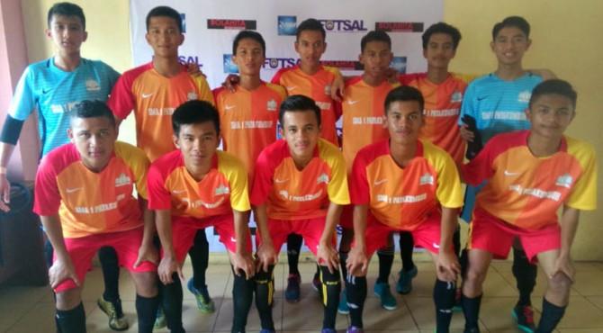 Tim futsal SMA Payakumbuh.