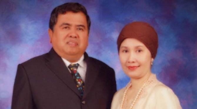 Asril Das dan istri.