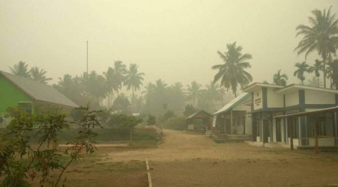 Kabut asap di Solsel