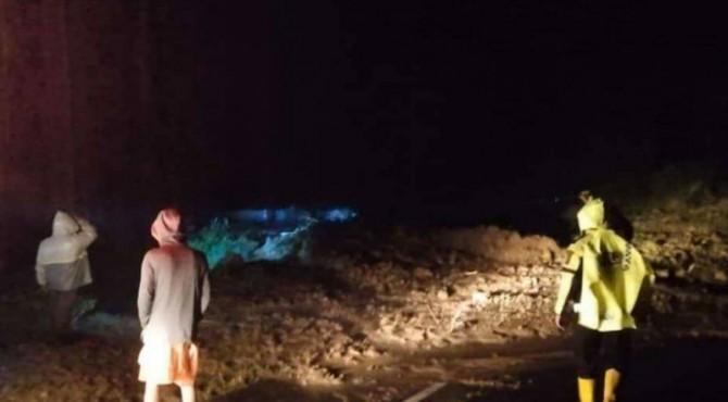 longsor yang terjadi di Jorong Koto Marapak, Nagari Persiapan Hulu Aia, Kecamatan Harau, Kabupaten Limapuluh Kota,