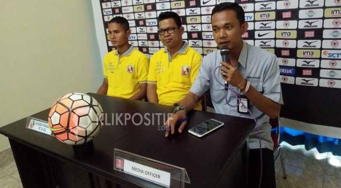 Technical Meeting Semen Padang FC U-21.
