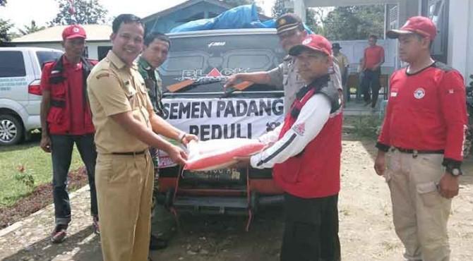 Bantuan Semen Padang di Limapuluh Kota