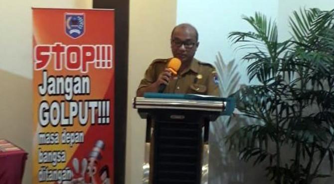 Kepala Kantor Kesbangpol Kota Payakumbuh, Budhy D Permana.
