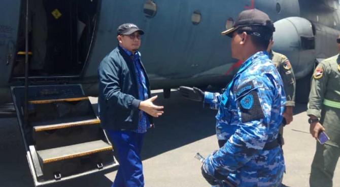 Andre Rosiade saat berkunjung ke Papua.