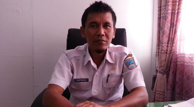 Kabid Tanaman Pangan dan Holtikuktura DTPHP Kabupaten Pasaman Barat, Afdal
