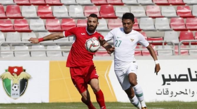Indonesia kalah 1-4 dari Yordania