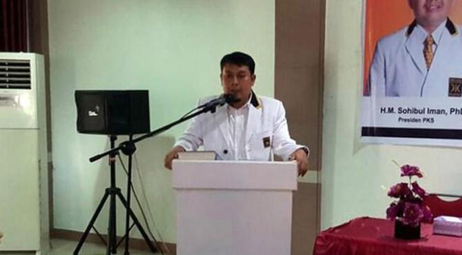 Ketua DPD PKS Payakumbuh, Hamdi Agus.