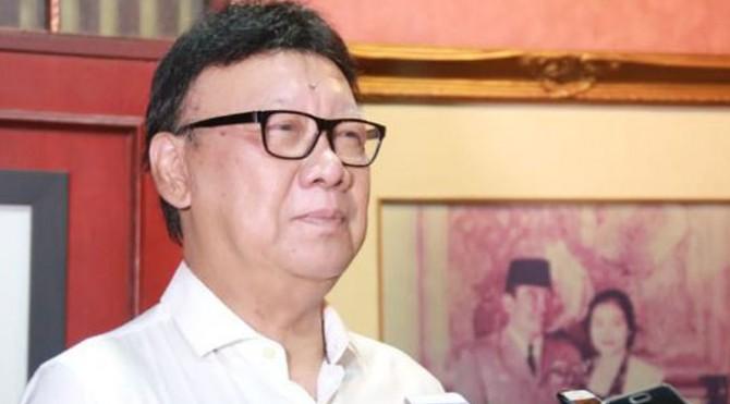 Menteri Dalam Negeri (Mendagri) Tjahjo Kumolo