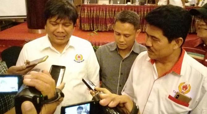 Ketua KONI Kota Padangpanjang Primer dan Ketua Harian KONI Kabupaten Tanah Datar Zulkifli Bahri