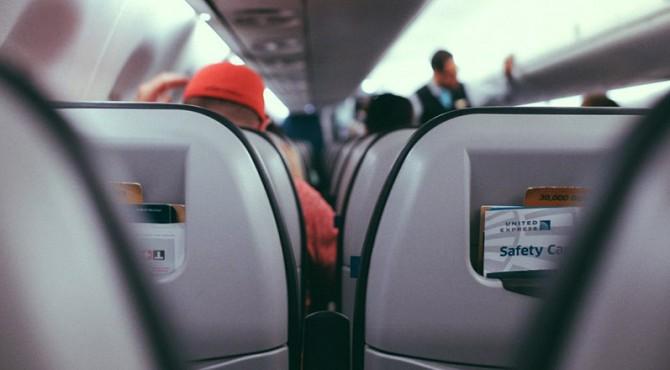 ilustrasi penumpang dalam pesawat