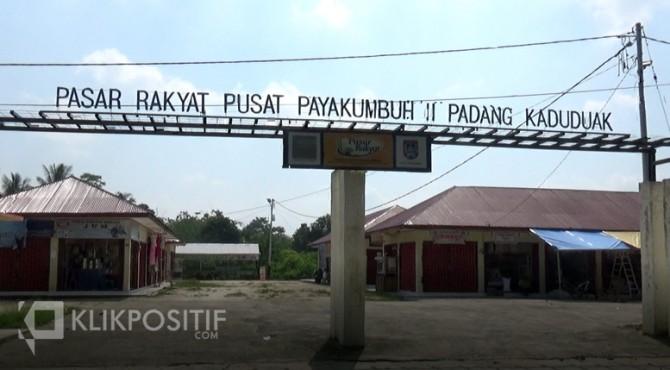 Kondisi Rakyat Pusat Payakumbuh II Padang Kaduduak.