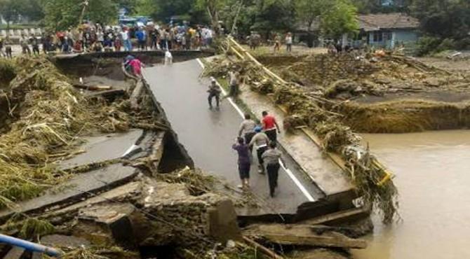 Dampak banjir Bima