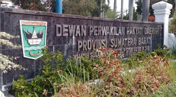Dewan Perwakilan Rakyat Daerah (DPRD) Provinsi Sumatera Barat