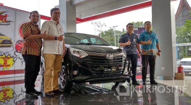 Pengenalan Toyota New Calya di Main Dealer Auto2000 Khatib Sulaiman Padang