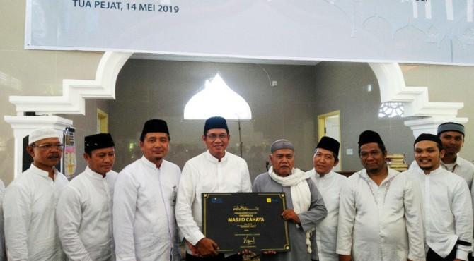 Peresmian Masjid Cahaya di Pulau Sipora, Tua Pejat Kabupaten Kepulauan Mentawai