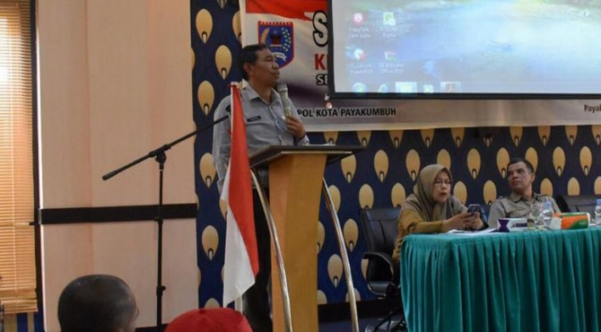 Sosialisasi bantuan keuangan untuk parpol Kota Payakumbuh.