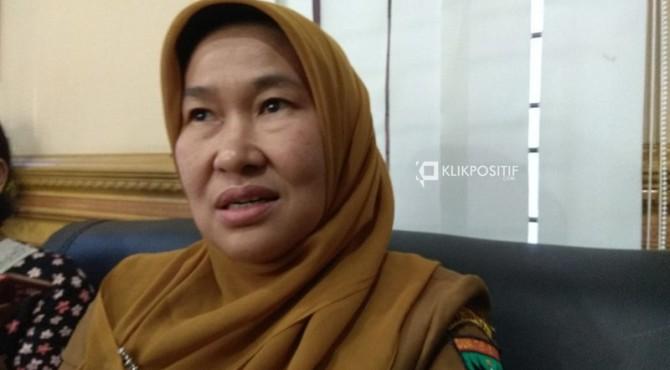Kepala Dinas Lingkungan Hidup Sumatera Barat Siti Aisyah