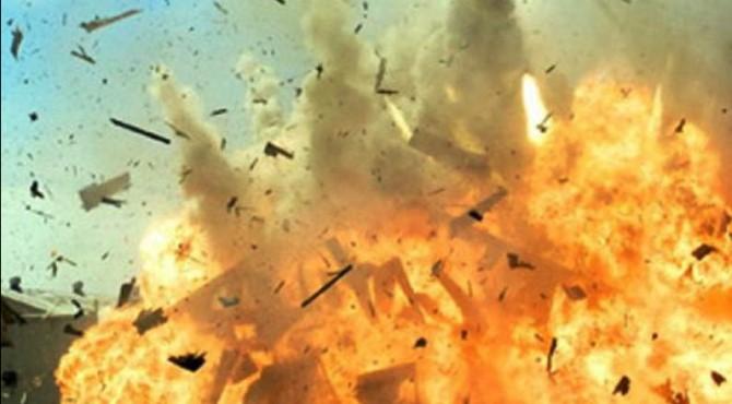 ilustrasi ledakan