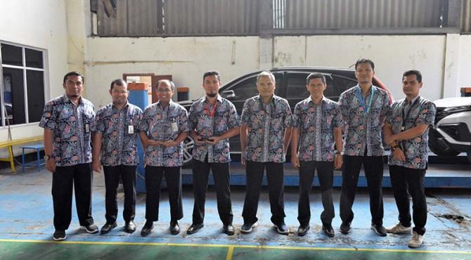 Foto bersama tim inovasi yang berhasil raih prestasi pada ajang Asia Pacific Quality Organization (APQO) International Conference