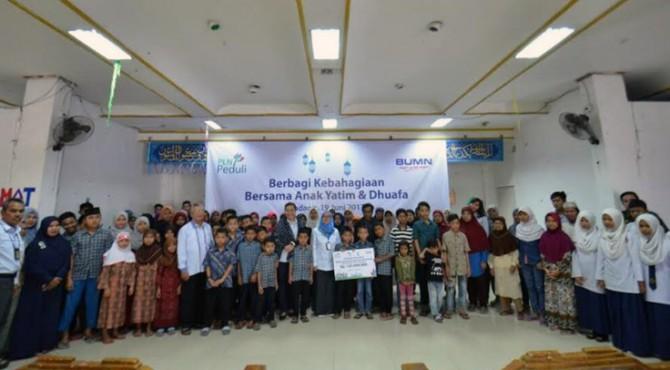 PLN Berbagi dengan Anak Yatim dan Dhuafa Se-Nusantara