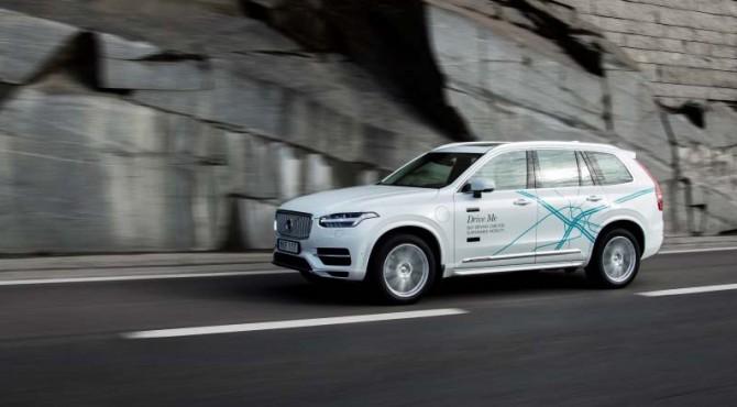 Self-driving pabrikan Swedia, Volvo