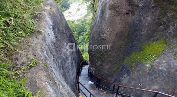 Jalur Janjang Saribu bagian atas