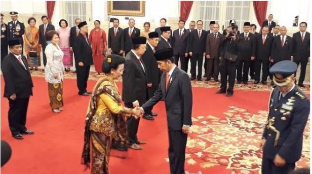 Sebagai ilustrasi: Menjelang HUT RI ke-73, sejumlah tokoh menerima bintang tanda kehormatan dari Presiden Jokowi.
