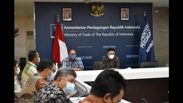 Sembilan kepala daerah di Sumbar melakukan pertemuan dengan Dirjen PND Kemendag Syailendra.