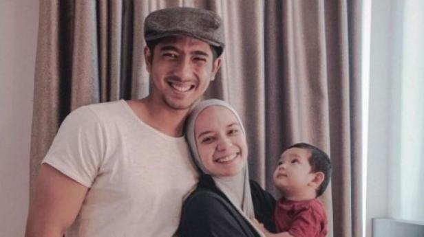 Arya Saloka, Putri Anne, dan anak mereka, Ibrahim