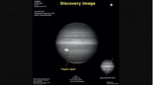 Jupiter Clyde's Spot.