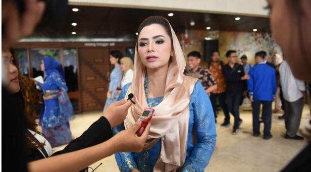 Wakil Ketua Badan Urusan Rumah Tangga (BURT) DPR RI Novita Wijayanti.