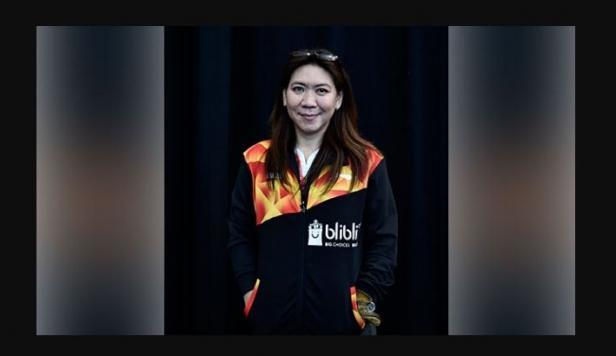 Legenda bulutangkis Indonesia sekaligus mantan Kabid Binpres PBSI, Susy Susanti