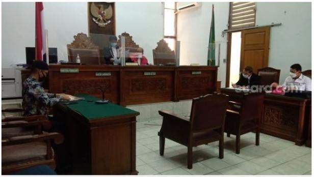 Sidang lanjutan gugatan laskar FPI yang digelar di PN Jakarta Selatan, Senin (1/2/2021).