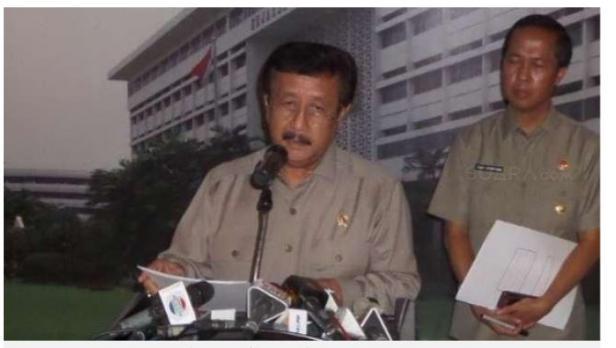 Mantan Jaksa Agung Basrief Arief